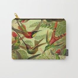 HUMMINGBIRD COLLAGE- Ernst Haeckel Carry-All Pouch