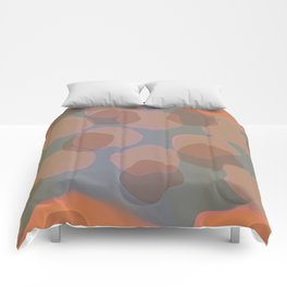 Peachy Colors Comforters