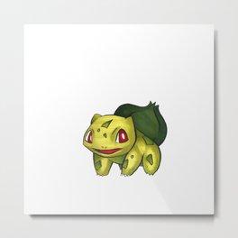 Pokémon - Bisasam Metal Print