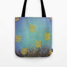 Above the Trees Tote Bag