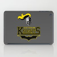 gotham iPad Cases featuring Gotham Knights by Pixel Design