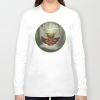 yoda Long Sleeve T-shirts featuring Yoda by Marc Vuletich