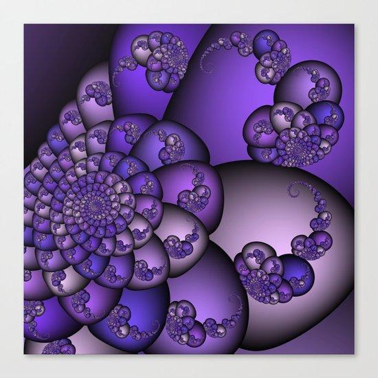 Perplexity of Purple Canvas Print