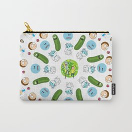Rick & Morty Mandala Carry-All Pouch