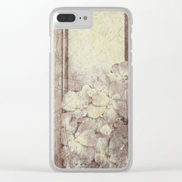 Flowers in the water Clear iPhone Case