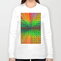 psychedelic Long Sleeve T-shirts featuring Psychedelic by Debbie Clayton