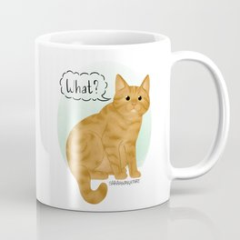 What's New Kitty Cat Coffee Mug