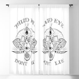 Third Eye Don't Lie Blackout Curtain