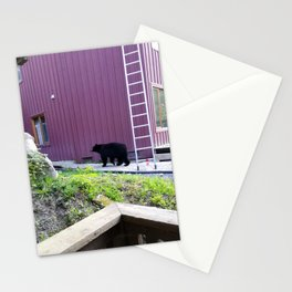 Hello neighbor! Just finished your work? Stationery Cards