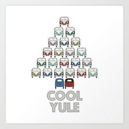 wishing you a cool yule this Christmas time! Art Print