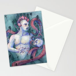Keeper Of The Abyss Stationery Cards