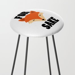 FOR FOX SAKE Counter Stool