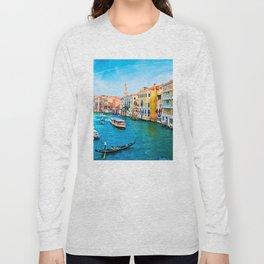 Italy. Venice lazy day Long Sleeve T-shirt