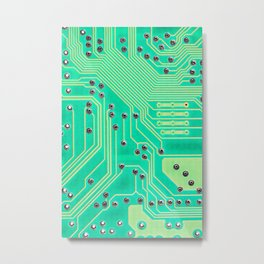 Connections @society6 #society6 #decor #buyart Metal Print