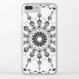 Damask design Clear iPhone Case