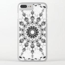 Damask design Clear iPhone Case