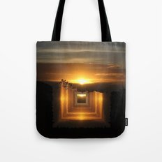 Catch a little sunrise and save it for a rainy day Tote Bag