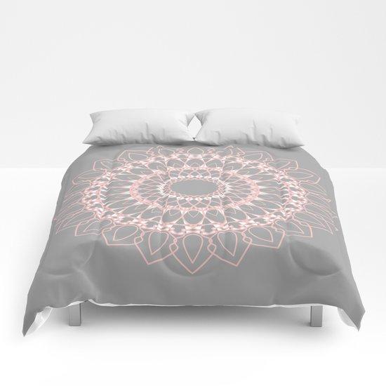 Mandala Rose  Comforters