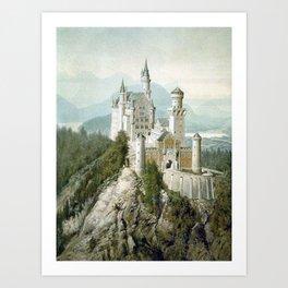 Adolf , castle Art Print