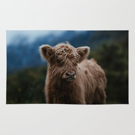 Baby Highland Cow Rug