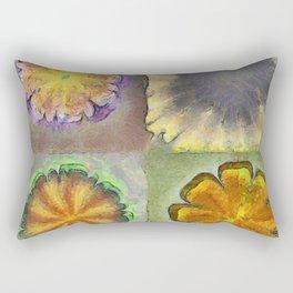 Numbles Coarseness Flower  ID:16165-054216-21980 Rectangular Pillow