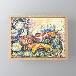 "Paul Signac ""Still Life with Jug"" Framed Mini Art Print"