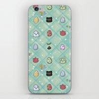 digimon iPhone & iPod Skins featuring Nade Nade by Kiriska