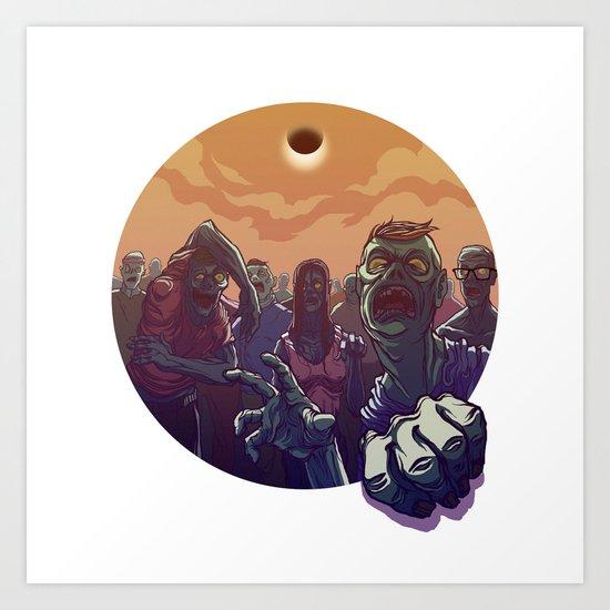 Eclipse Z Art Print