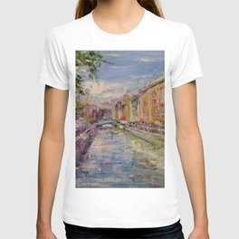 Painting Oil Realism Canvas Art Impressionism Landscape Painting Modern Office Decor Art Collection T-shirt