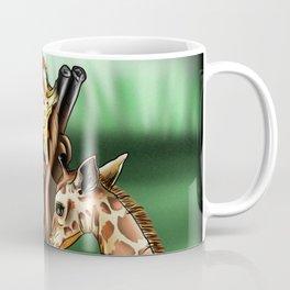 Nurturing Giraffes Coffee Mug