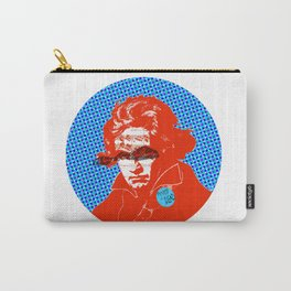 Ludwig van Beethoven 11 · Punks not dead Carry-All Pouch