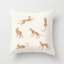 Cheetah Spot Throw Pillow