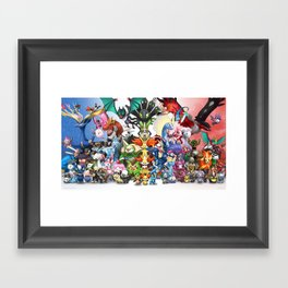 Generation 6 Framed Art Print