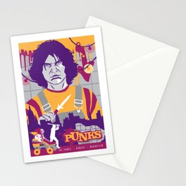 THE WARRIORS :: THE PUNKS Stationery Cards