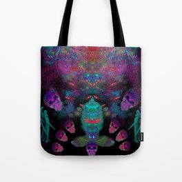 Alien Spirits Beyond Death Tote Bag