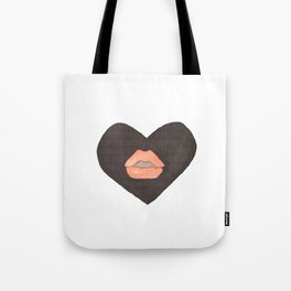Abby Loves 'Lips & Hearts' by Abby Shepard Tote Bag