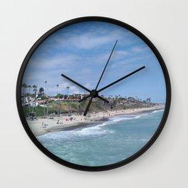 San Clemente Beach Wall Clock