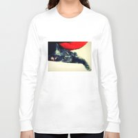 meditation Long Sleeve T-shirts featuring Meditation by Klara Acel