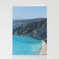 greece Stationery Cards featuring Greece by Melia Metikos