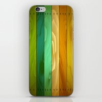wooden iPhone & iPod Skins featuring Wooden  by Robin Curtiss