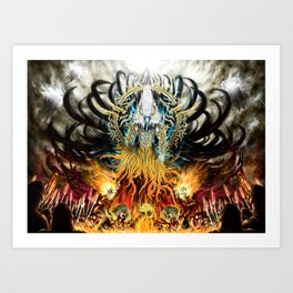 God of Treachery Art Print