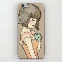 gemma correll iPhone & iPod Skins featuring Gemma by Gemma Teese