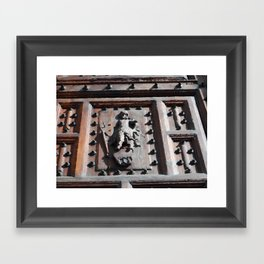dooor Framed Art Print