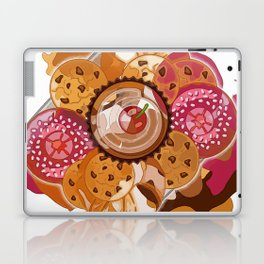 Creme Caramel, Schoko, Raspberry glaze Abstract Bon Appétit Laptop & iPad Skin