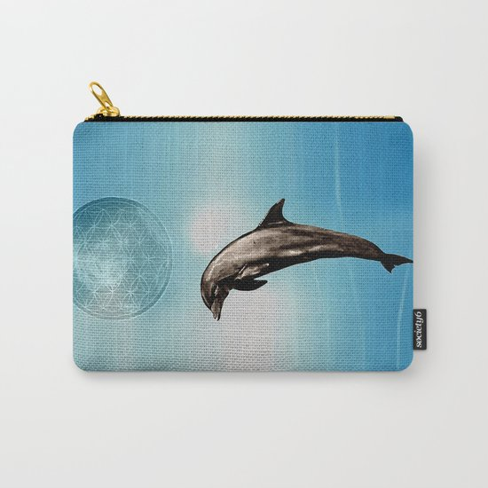 The DOLPHIN - ZEN version Carry-All Pouch