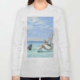 Edward Hopper Ground Swell 1939 Painting Long Sleeve T-shirt