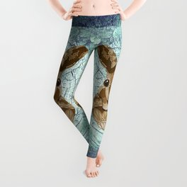 Ornate Hare Leggings