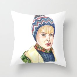 Kevin - Home Alone Throw Pillow