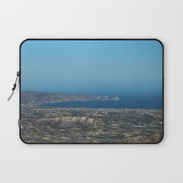 View On Heracleon And The Sea On Crete in Greece Laptop Sleeve