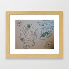 Khadaka Framed Art Print